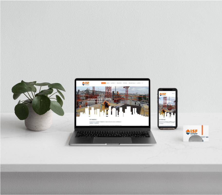 Identité graphique et site internet PME du bâtiment
