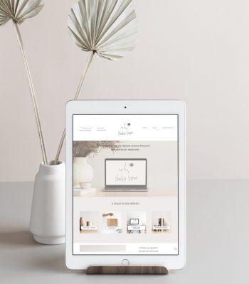 Création de site internet vitrine et site de e-commerce pour commerçant, créateur, artisan, cabinet dentaire, cabinet avocat, freelance, graphiste, auto-entrepreneur, par Studio Bono
